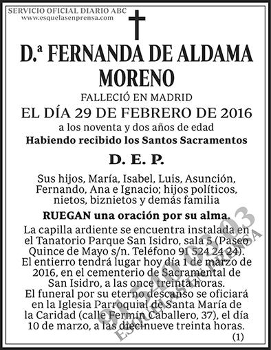 Fernando de Aldama Moreno